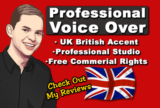 record your Professional Male British Voice over - 150 Words