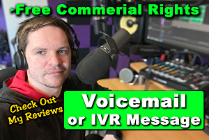 I will Record your Voicemail or IVR Greeting