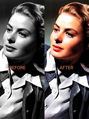 I will colorize your black and white photo