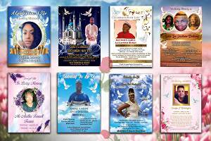 I will design event flyer