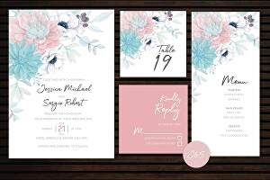 I will design a beautiful wedding card or invitation design