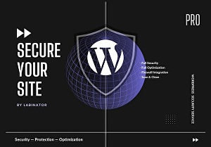 I will fully secure your wordpress website