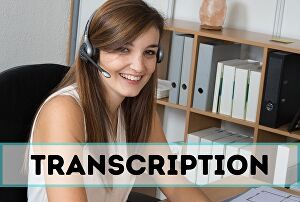 I will do transcription for audio, video in English text 24 hours