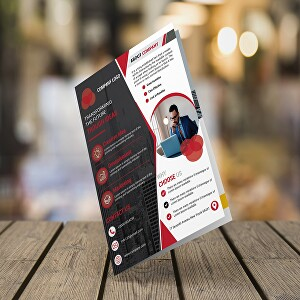 I will design a creative flyer for your business
