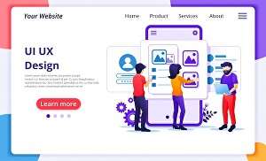 I will design UI UX of your website and Landing Page