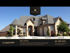 I will make real estate promotional video