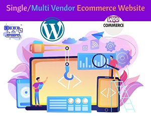 I will create a multi-vendor feature-rich eCommerce website on woocommerce