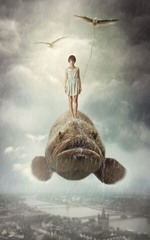 I will create illustrations in surreal style