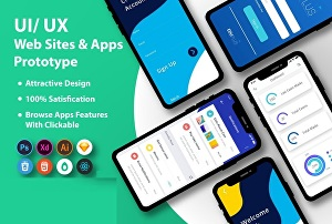 I will design eye-catching UI UX for your mobile app