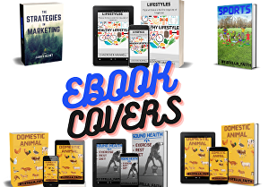 I will Design your Book or eBook cover