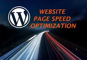 I will do WordPress website speed optimization, page speed optimization
