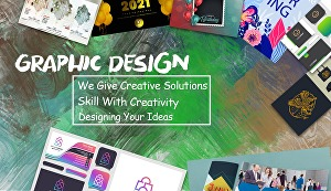 I will do any kind of graphic design,t shirt design, book cover, banners, etc