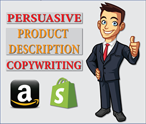 I will  write a persuasive product description