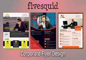 I will design professional flyer for your business