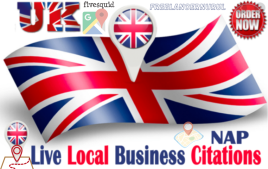 Create 150 High Authority UK Local Citations For Business Rank