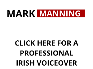 I will record a professional Irish voiceover for film video radio or dramatic purposes