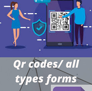 I will make all types forms and Qr codes for your business or website
