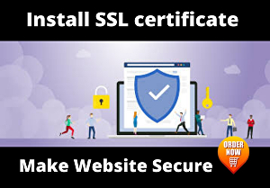 I will install free SSL certificate in your website
