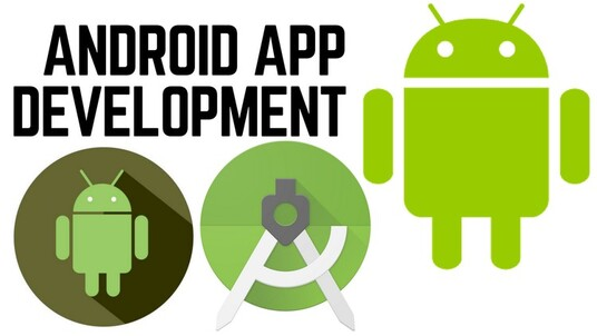 build a two page Android App or MVP