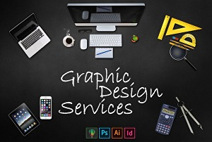 I will design flyer, brochure, and banner using adobe photoshop, adobe InDesign, and adobe illust