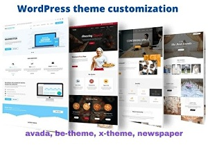 I will do wordpress theme customization and plugin customization