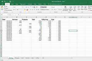 I will perform data clean up, formatting, entry, conversion and analysis in Excel