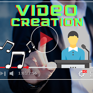 I will create a video for you with related graphics, text on screen and speech related to your sc