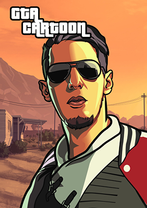 I will draw your photo into awesome GTA character