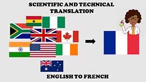 I will translate your Scientific and Technical documents from English to French