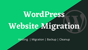 I will move or transfer any wordpress website to a new hosting