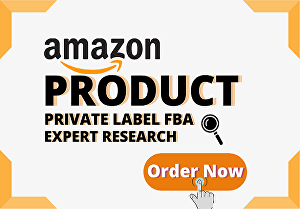 I will do amazon product research for Private Label FBA