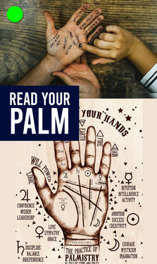 do accurate detail palm reading with combined psychic reading