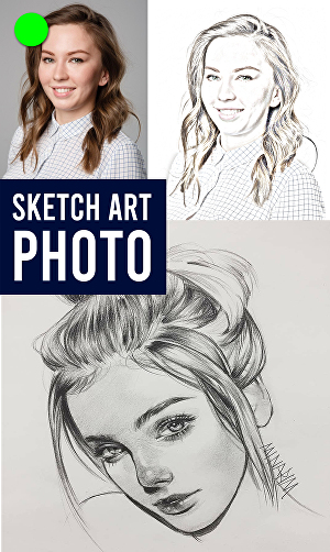I will Draw A  Realistic Pencil Sketch From Your Photo