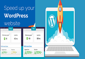 I will speed up and optimize your WordPress website page speed 90+ with Gtmetrix