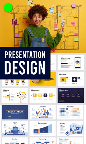 I will Make business, sales, pitch deck or personal Powerpoint Presentation Design