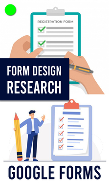 create google forms for online questionnaires, surveys, Feedback, quizz, Registration or research