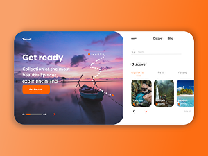 I will design website and mobile app UI UX design with xd or Figma