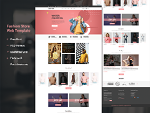 I will design web UI UX, landing page, and website template