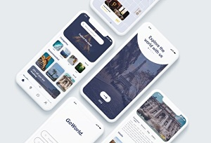 I will design mobile app & web UI UX