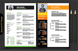 I will do professional resume, cv design, letterhead and stationery designs