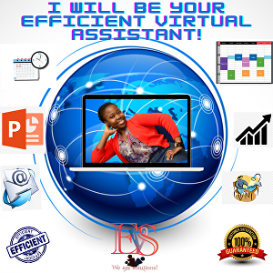 I will be your efficient virtual assistant