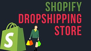 I will Build shopify dropshipping store, website with winning product