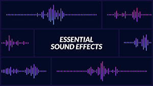 I will make custom sounds and sound effects for your projects