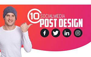 I will design social media Post