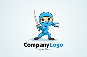 I will create awesome character logo for your company