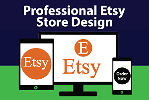 I will create professional etsy shop or store with etsy listing