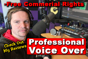 I will record your Professional Male British Voice over - 400 Words