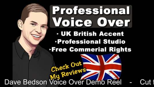 record your Professional Male British Voice over - 400 Words