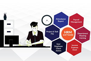 I will create human resource management software