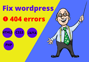 I will fix any error for wordpress website